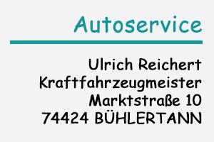 Logo Autoservice Reichert
