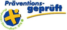 Logo Präventiosngeprüft