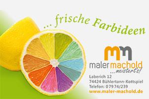 Logo Maler Machold
