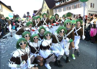 "SC-Faschingswagen ""Schokoladenfabrik"""