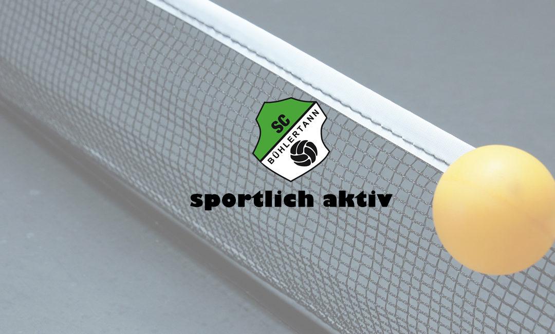 SC Bühlertann TT-Spielberichte
