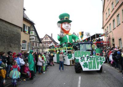 "SC-Faschingswagen ""St. Patrick´s Day"""