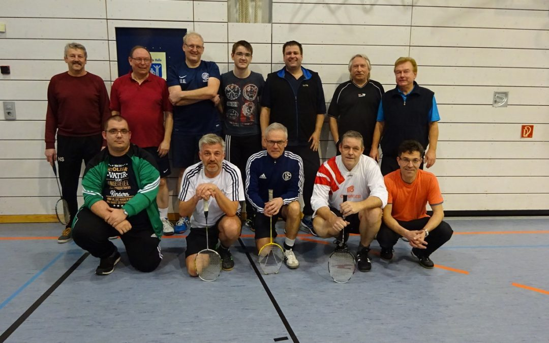 Badmintonturnier 2018