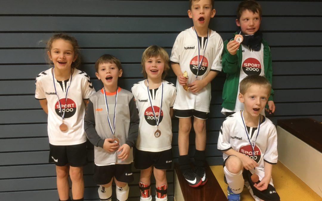 Bambinis beim Kärcher-Cup in Obersontheim auf dem 4. Platz
