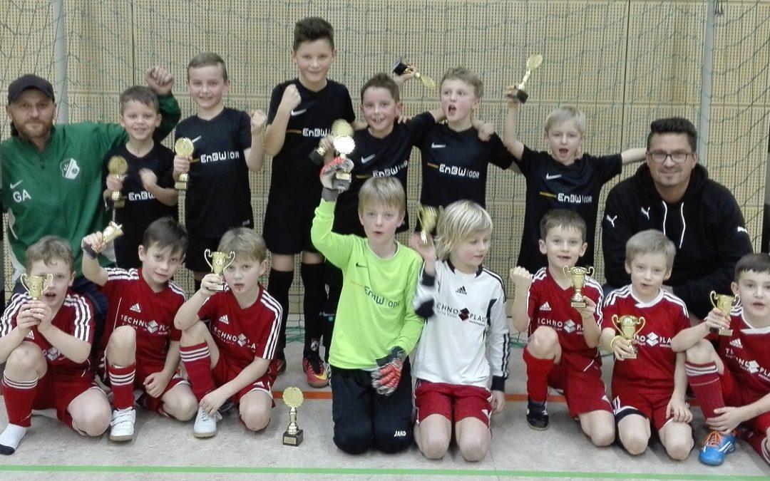F-Jugend: zwei 4te und zwei Turniersiege