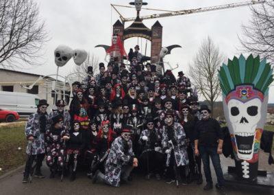 SC-Faschingswagen 2018