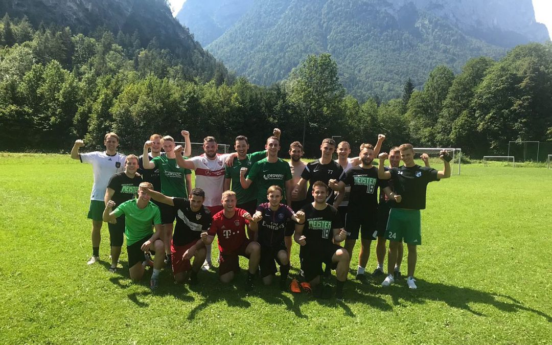 Trainingslager 2018 in Unken