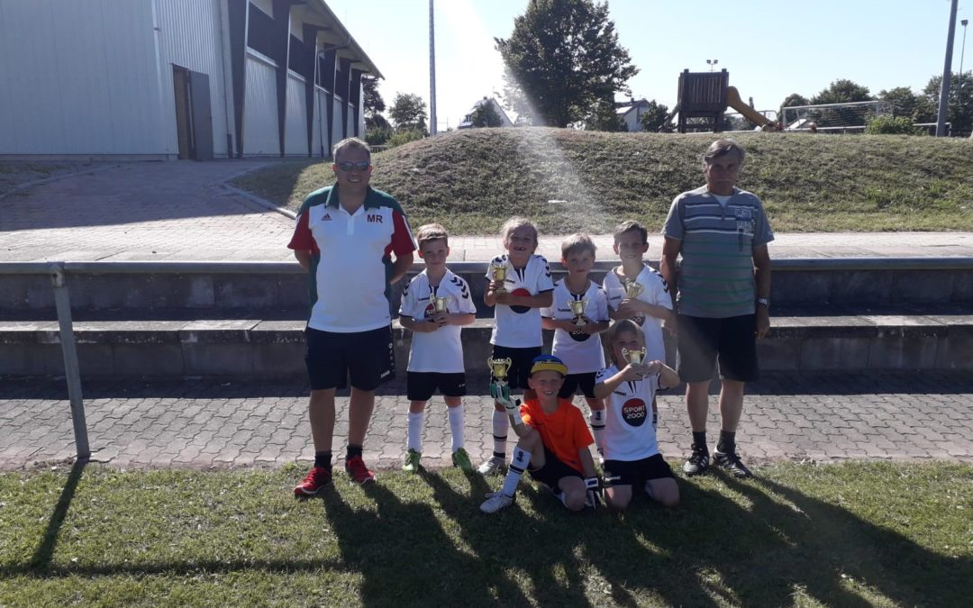 Bambinis gewinnen das Sommerturnier in Rosenberg