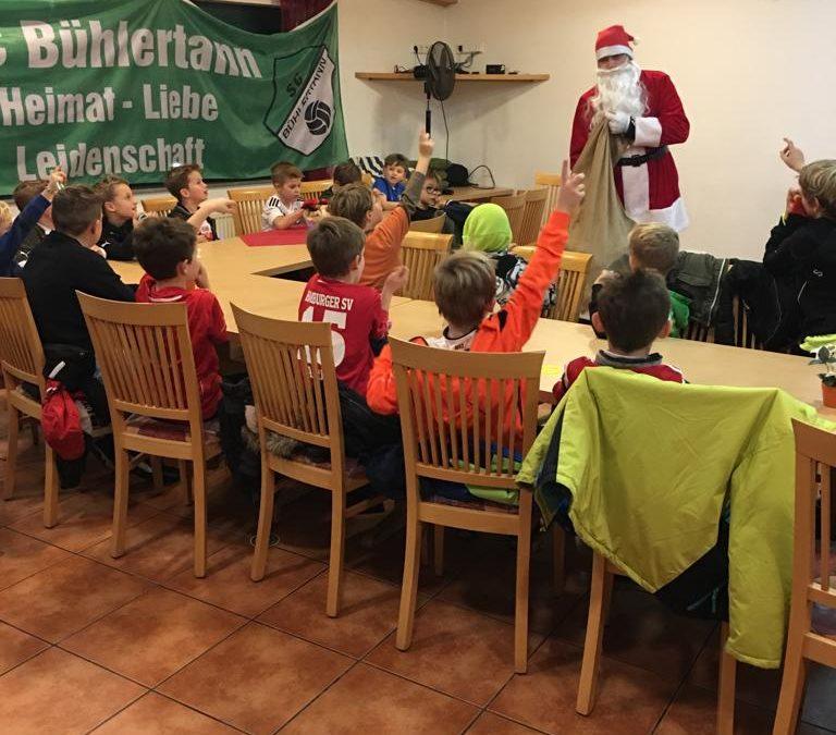 Nikolausfeier bei der F-Jugend