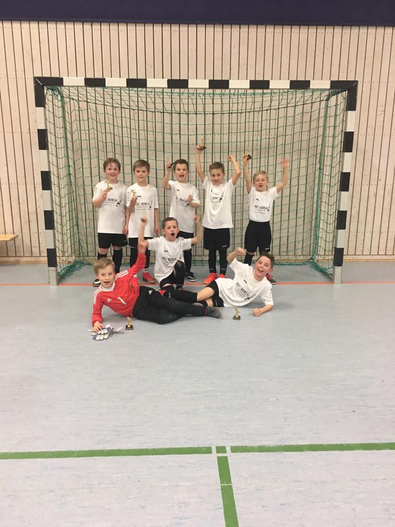 F Jugend Turniersieger in Fichtenberg