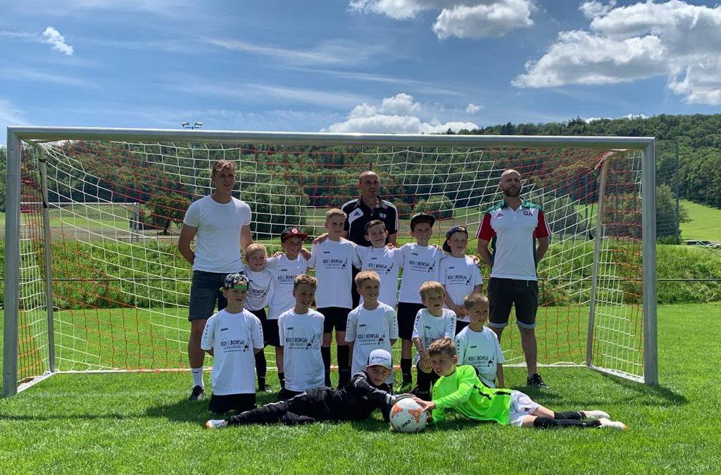 F Jugend erfolgreich bei der Finalrunde in Hessental