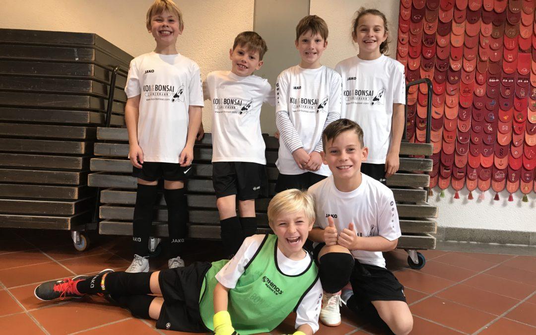 F-Jugend startet in die Hallenrunde in Michelbach