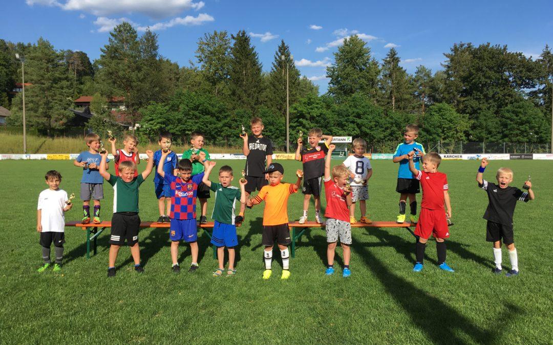 SC-Bambinis beenden Saison mit Trainingsturnier